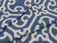 Scalamandre Upholstery Fabric- Ailin Lattice Weave / Porcelain 8.75 yd 27214-006