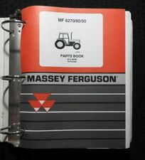 ORIGINAL MASSEY FERGUSON MF 6270 6280 6290 TRACTOR PARTS CATALOG MANUAL NICE