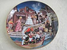 Disneyland's 40th Anniversary Collection PIRATES OF THE CARIBBEAN Plate 5th