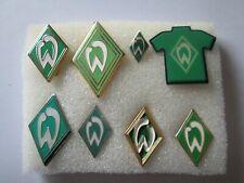 j2 lotto 8 pins lot SV WERDER BREMEN FC club spilla football calcio spille badge