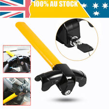 Universal Heavy Duty Car Steering Wheel T Type Anti-theft Lock With 2 Keys--AU