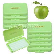 100 Boxes Dental Orthodontics Wax Green Apple Scent flavors 5 pcs/box Italy