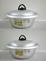 Korean SAEMAUL(New Village) Noodle Ramen Ramyun Pot with Lid, Size(16, 18cm)