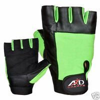 ARD Weight Lifting Gloves Strengthen Training Fitness Gym Exercise Workout G-Blk