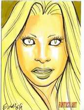 Fantasy Art Sketch Card by Elfie Lebouleux /1 - Unstoppable Loaded Pack Release