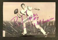 BERT JONES NCAA HOF LSU Tigers Football Auto Autographed Signed 4x6 Photo 2