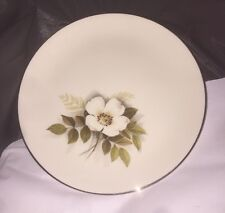 "Nancy Prentiss China IVORY ROSE  8"" Salad / Bread Small Plate Excellent NOS"