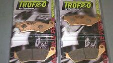 4 pastiglie SINTERIZZATE anteriori Honda Transalp 600 650 700 1997-2013 XLV