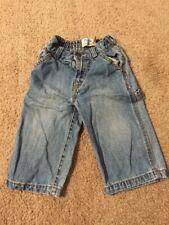 Boys The Children's Place Elastic Waist Jeans - Blue, 12 Months