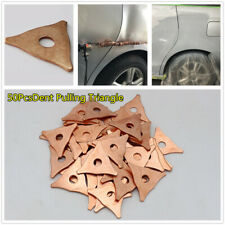 Triangle Dent Pulling Ring Washer Car Welder Soldering Panel Puller Parts 50Pcs