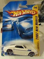 Hot Wheels '69 Ford Mustang 2007 New Models White