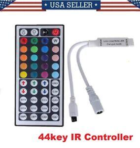 44 Key Mini IR Remote Controller For RGB 3528 5050 LED Light Strip Lamps 12V  6A