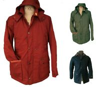 Mens Waterproof/Machine Washable 'Dried' Wax Jacket Great Quality T66