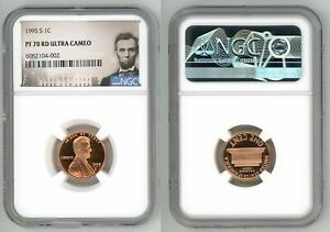 1995 S LINCOLN CENT 1C NGC PF 70 RD ULTRA CAMEO  M3