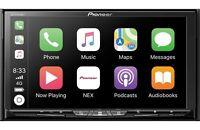"Pioneer AVH-W4500NEX In Dash DVD Receiver w 7"" WVGA Clear Resistive Touchscreen"