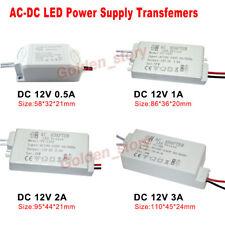 Controlador de LED Adaptador Convertidor AC-DC Power 110V 120V 220V 230V a 12V Transformador