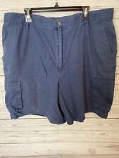 GUY HARVEY AFTCO Shorts Mens size 40 blue inseam fishing
