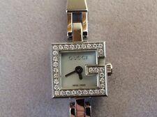 Gucci women's diamond watch super cond