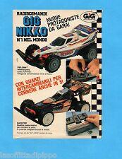 TOP990-PUBBLICITA'/ADVERTISING-1990- GIG NIKKO - DIPLOMAT/BACKFIRE