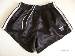 ADIDAS Glanz Shiny Nylon *Vintage* Sprinter Boxer Shorts Pants Sport Hose D5 S-M