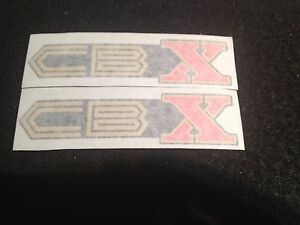 HONDA CBX 1000 SIDE COVERS DECALS 1978-1979/1979-1980 1980 MODELS