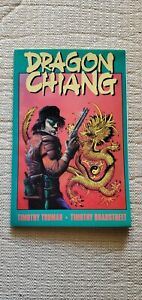 1991 Eclipse Books Dragon Chiang1st Printing Timothy Truman White Pages Pristine