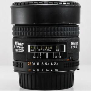 Nikon Fisheye-NIKKOR 16mm f/2.8 D AF Lens