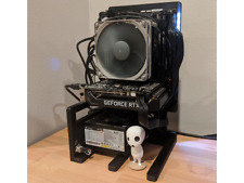 DIY Open-Frame Computer Chassis ITX Radiator Aluminum Alloy for PC Case