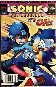 SONIC HEDGEHOG Comic Book Issue #248 June 2013 WORLDS COLLIDE PT 3 Bagged VF