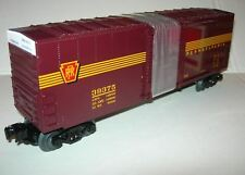 LIONEL 6-39375 NS HERITAGE PRR HIGH CUBE BOXCAR TUSCAN FIVE STRIPE MIB 30213
