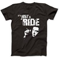 Bill Hicks Inspired Just A Ride T-Shirt 100% Premium Cotton Relentless Sane Man