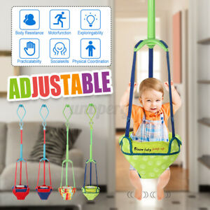 Safty Baby chair Door Jumper Swing Bouncer Adjustable for 6-12 Months Toddler