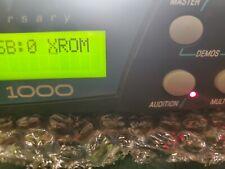 EMU 32MB X-LEAD V2 XROM PROTEUS 2000 ROM W/5 BANKS & 640 E-MU XK-6 SOUNDSET