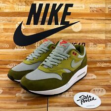 Nike Air Max 1 Premium Retro 908366 300 US 6/EU 38.5 Curry green OG/90/95/97/BW