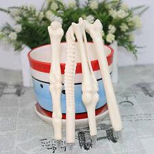 Novelty Finger Spine Tibia Fibula Shape Bones Design Blue Ink Ballpoint Pen