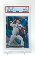 Dustin May 2020 Topps Finest Firsts Rookie #FF8 RC PSA 10 Gem Mint LA Dodgers
