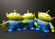 "Disney Pixar Toy Story 6"" Space Aliens Lot (3)Vinyl Figures, Thinkway Toys"