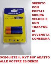 Batterie Pile MINIStilo AAA Ricaricabili 5600 mAh NI-MH 1,2 V