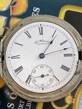 SERVICED ANTIQUE WALTHAM POCKET Watch 14s 7J Grade Bond St 1884 Hunting 1889