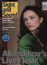 Sight and Sound: April 1998 - UK Magazine - Almodovar / Woody Allen / Sokurov