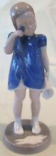 Bing & Grondahl B&G Copenhagen Porcelain Girl With Spilled Milk Figurine #2246
