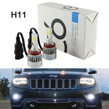 2Pcs Bright White H11 LED Bulbs For 2014-2017 Jeep Grand Cherokee Fog Light