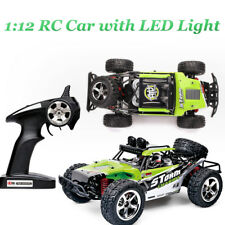 2.4Ghz 1/12 4WD 35MPH RC Remote Control Cars with LED Light, max speed 45 km/h+