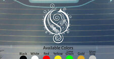 OPETH VINYL DECAL STICKER CUSTOM SIZE AND COLOR