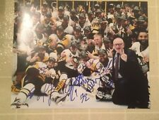 2017 Stanley Cup Champions Pittsburgh Penguins Team Signed 11x14 Photo Crosby