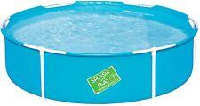 Bestway My First Frame Pool,stabil und leicht aufbaubarer Kinderpool, 152x152x38