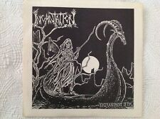 "INCANTATION Entrantment of Evil 7"" Early Press RARE DEATH METAL VINYL BEHERIT lp"