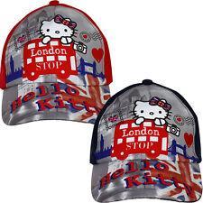 Hello Kitty * Kinder Mädchen Basecap Base Cap Kappe Mütze Hut *NEU* Größe 52 54