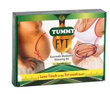 HERBAL TUMMY MASSAGE GEL OIL FAT BURN NO SIDE EFFECTS AYURVEDIC  NATURAL 100% O1