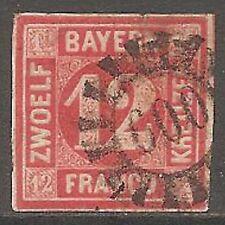 Bavaria Used German & Colonies Stamps